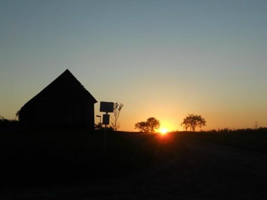 Pinney's point sunset. ©2011 Sarah Haworth.