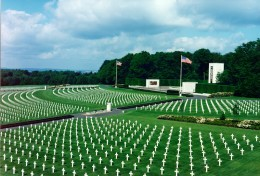 American Miliary Cemetery, Luxembourg which contains grave of Gen. George Patton.