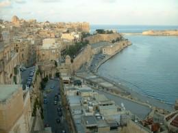 Valletta harbor, Malta.