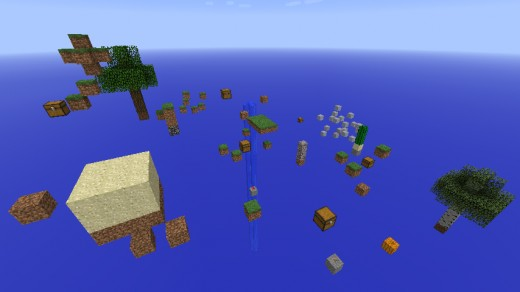 Minecraft Scatter Survival Map