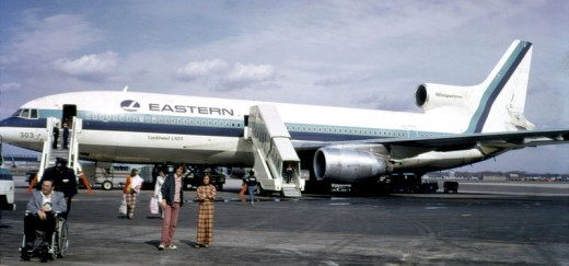 An Eastern Airlines Lockheed L-1011 TriStar as used by Flight 401