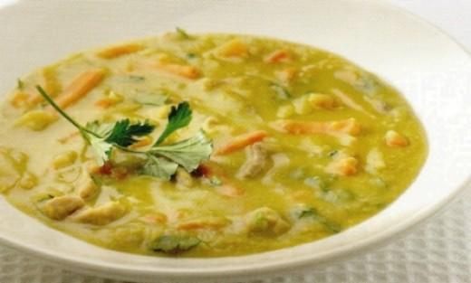 Erwtensoep: Dutch pea soup