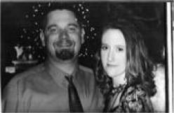 Kelly & Jeremy Christmas 2002
