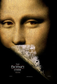 Movie Poster of The Da Vinci Code. Source:warrantedarrest CC BY 2.0 via flickr