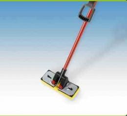 Sponge mop or Paint roller