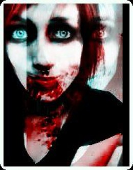 Very creepy.. yes, I know.  This was Brittany this Halloween 2011- Creepy Photo Edit