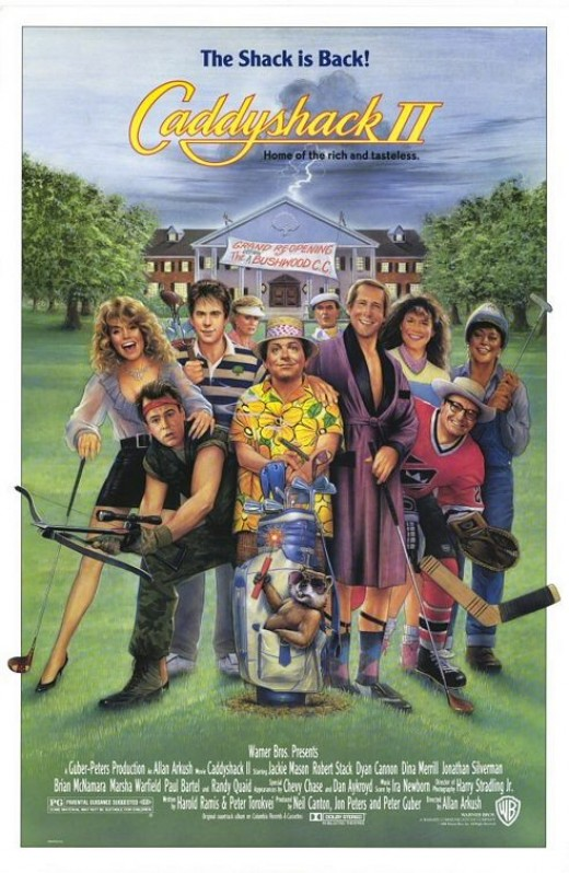 Caddyshack II Movie Poster