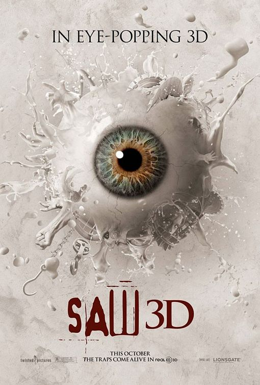 Saw 3D Movie Poster