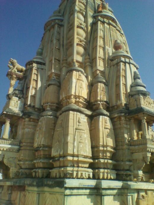 Spire (Shikhar), Adinath Temple , Sanganer