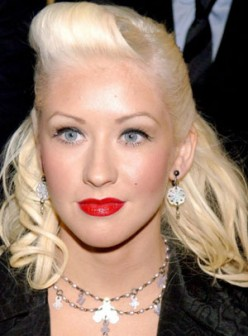 Gwen Stefani with Punk hairstyle.This also a unique hairstyles which capures some essence from the older hollywood days.