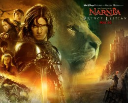 Narnia Movie Poster made in Photoshop.
