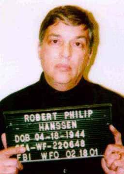 Robert Philip Hanssen; former FBI agent convicted of espionage