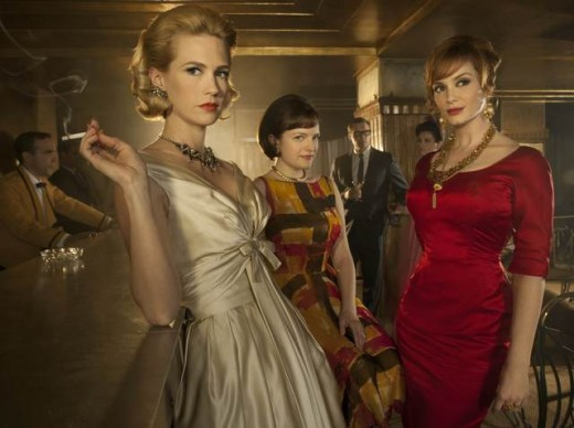 "The ladies of ""Mad Men"" dealing with hiding who they are to please the men in their lives."