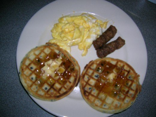 Breakfast, I made in the morning of November 8, 2011. ©