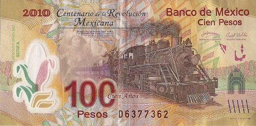 Mexico polymer money