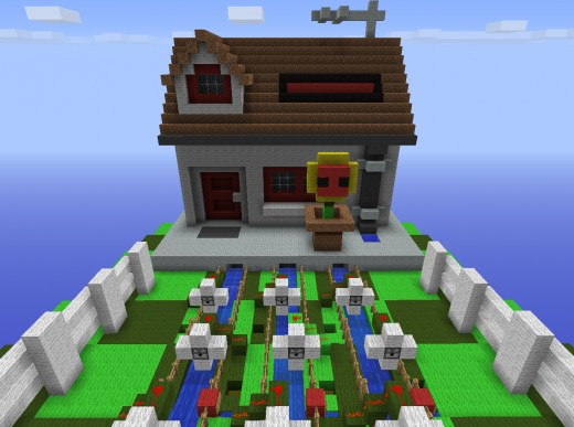 Playable plants vs zombies minecraft game world download