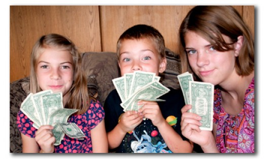 Kids need to learn how to handle money from an early age.