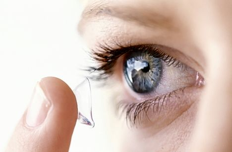 Contact lenses types