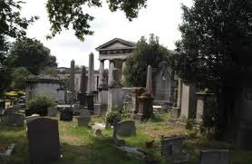 Visit Kensal Green cemetery, if you dare.