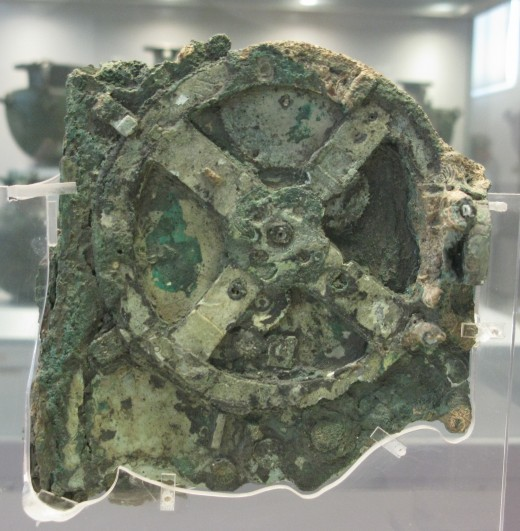 A large piece of the Antikythera Mechanism