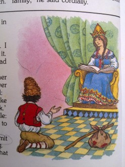 Russian Story for Kids: The Queen of Riddles