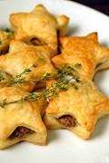 Wild Mushroom in Puff Pastries, Appetizer Stuffed Pastry with Mushrooms Recipe