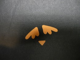 wings and beak cutout