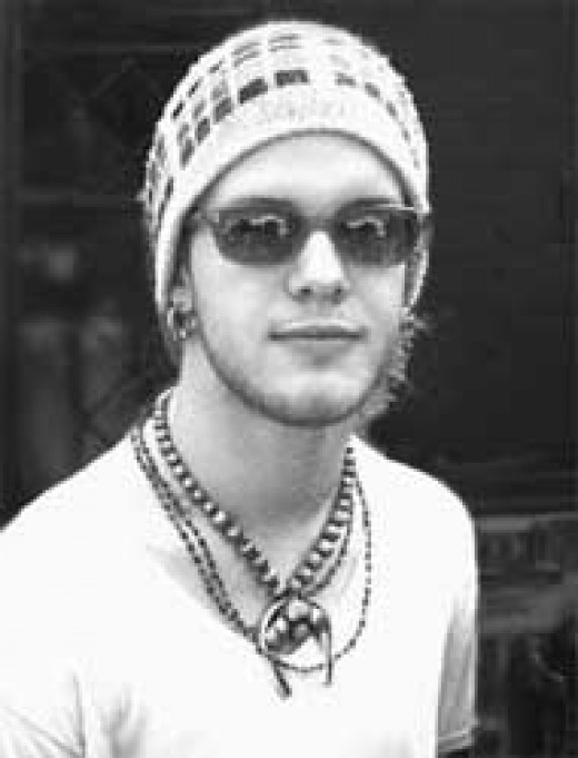 The late Shannon Hoon, frontman for Blind Melon