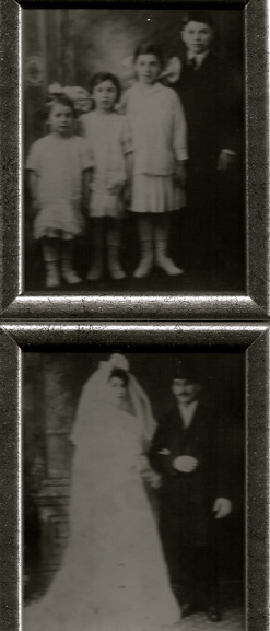 My Beautiful Grandparents and Children... My Mother is the tall girl, next to her Brother.