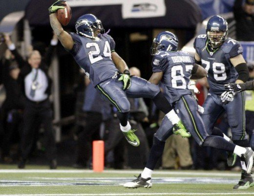 Marshawn Lynch looks to lead the Seahawks to back to back victories