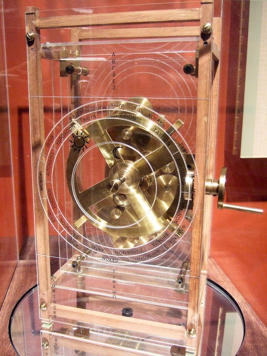 Re-constructed Antikythera Mechanism