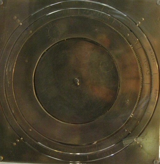 Close-Up View of Re-Constructed Antikythera Mechanism