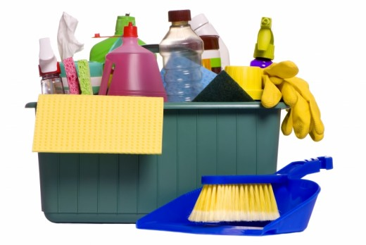 gather all you cleaning equipments before you start cleaning