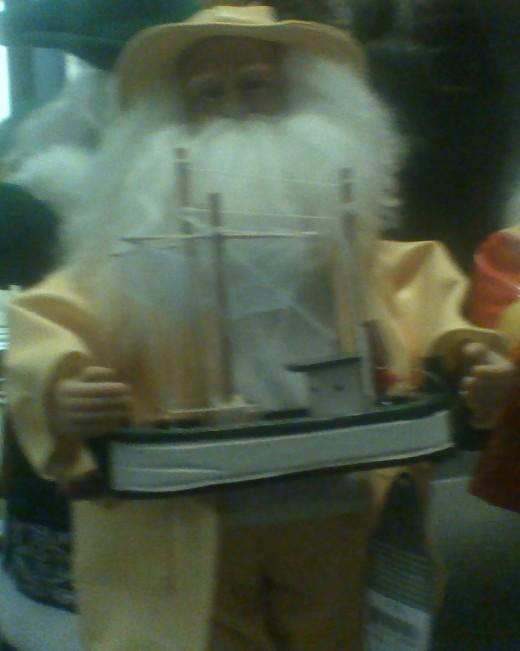 A fisherman's Father Christmas