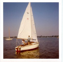 My Father's Cap Horn, a 21 foot French built sloop