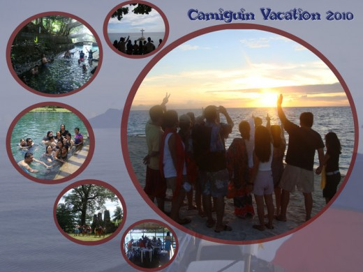 I visited my home island Camiguin with my colleagues (teachers from Merry Child School). Sadly, I was not able to visit my hometown. But this is still the best vacation I had with my home island.