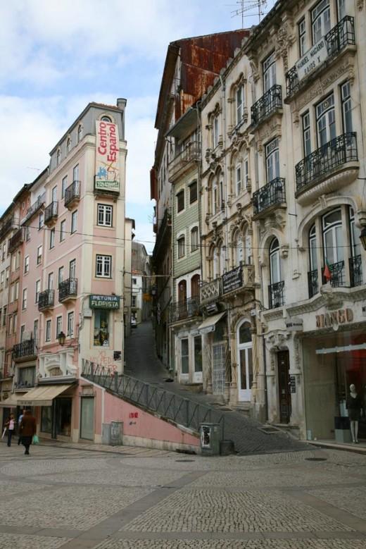 Coimbra city centre