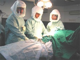 """Surgical """"Spacesuits"""""""