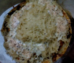 Lasagna top view