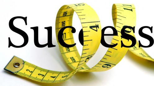 With a measuring tape, you can be a success even with the scale.