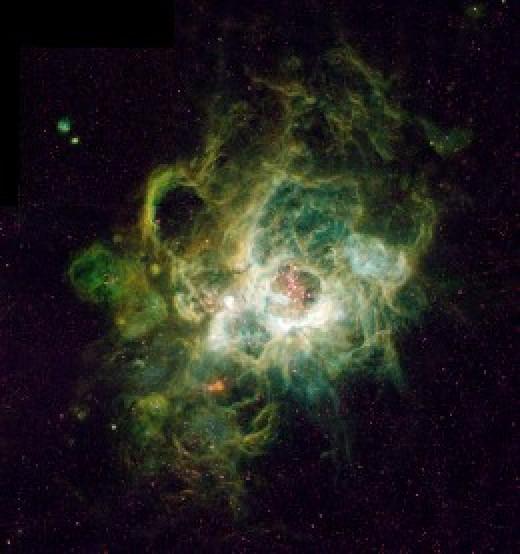 Triangulum Nebula, NGC 604