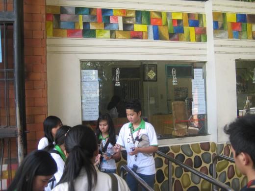 Pay your entrance ticket - P40 pesos for non-residents and P20 pesos for Manila residents