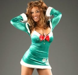 WWE Diva Alicia Fox