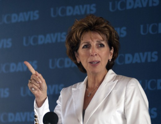Chancellor Linda P.B. Katehi cannot protect the health and safety of students if she orders the police to remove those same students by force.