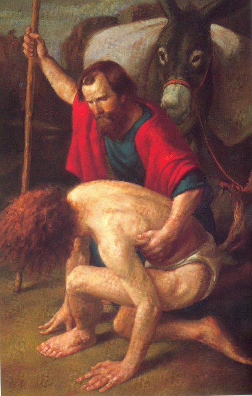 In The Good Samaritan both the giver and the receiver is blessed.