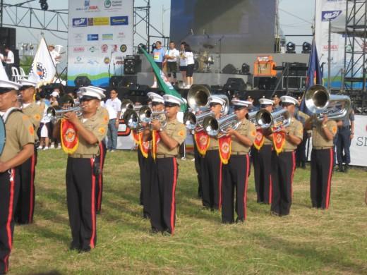 The PNP  Band in Metro Manila