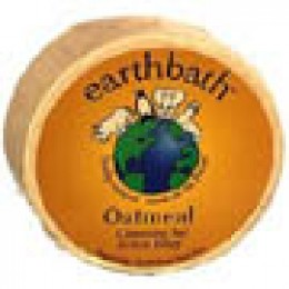 All natural oatmeal shampoo bar at EarthBath