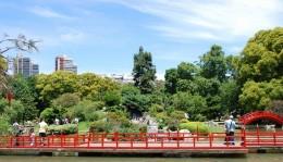 Japanese Garden in Palermo District