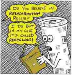 Reincarnation:  Naw!  You can't even leave in the first place.