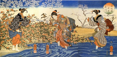 Kuniyoshi Utagawa, Japan, Women,  Artist: Utagawa Kuniyoshi - Public Domain, via Wikimedia Commons